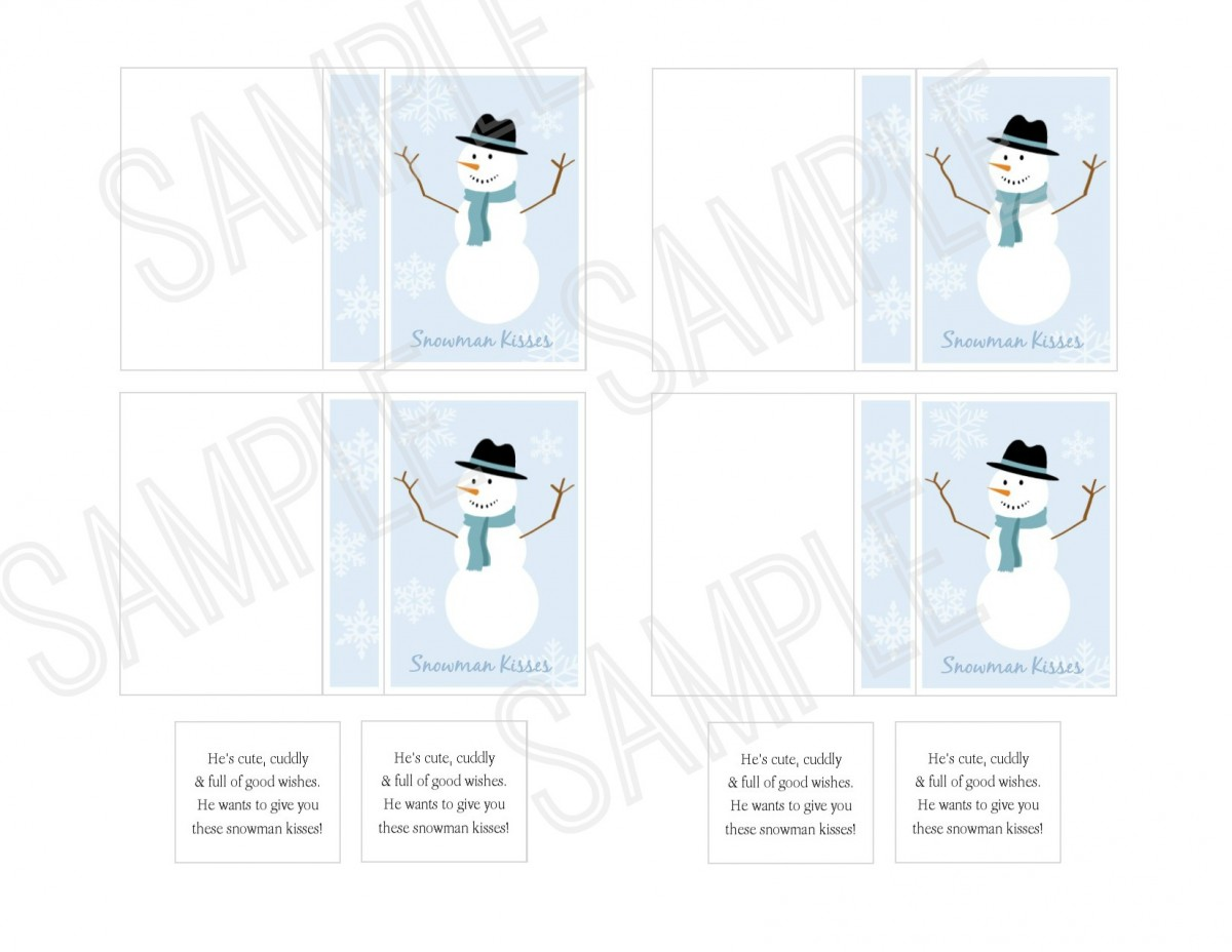 tic tac snowman kisses printable sample livingston creative